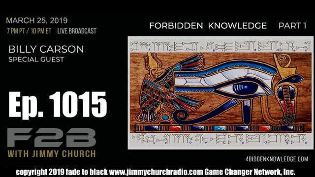 Ep. 1015 FADE to BLACK Jimmy Church w...