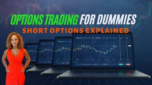 Option Trading For Dummies | Part Three | Short Options EXPLAINED