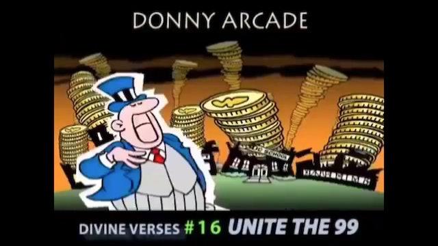 Divine Verses #16 Unite The 99 by @DonnyArcade