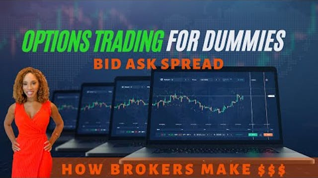Bid Ask Spread | Options Trading for ...