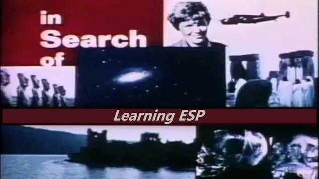 In Search of... Learning ESP