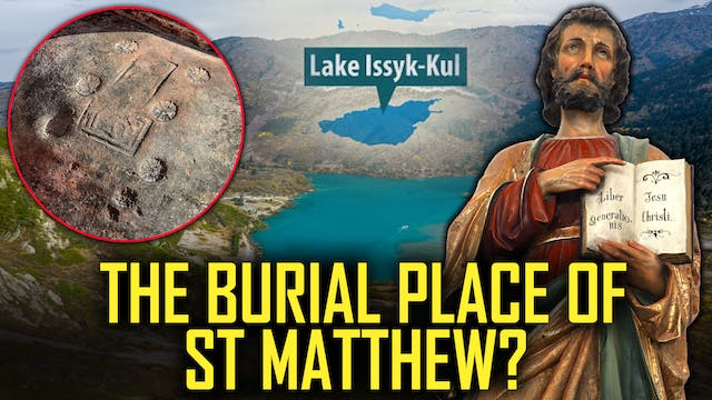 The Burial Place of  St Matthew?