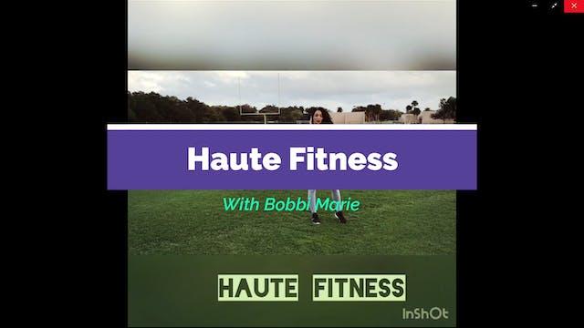 Haute Fit by Bobbi Carson Free Leg Tr...