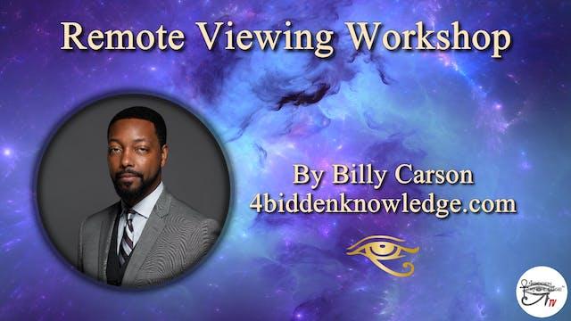 Remote Viewing Workshop