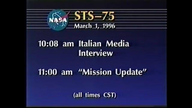FULL Uncut NASA STS-75 Tether UFO Sig...