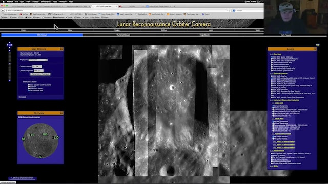 Lunar Base - Wall Imaged By NASA During Both Apollo & LROC Missions!