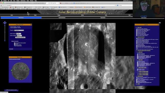Lunar Base - Wall Imaged By NASA Duri...