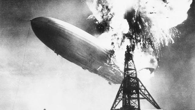 Hindenburg Explodes - 1937