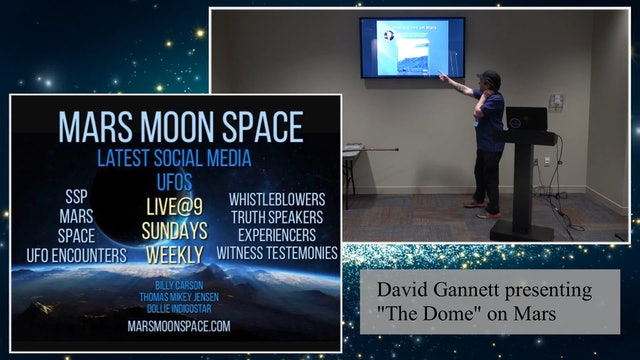 The Dome On Mars By David Gannett.