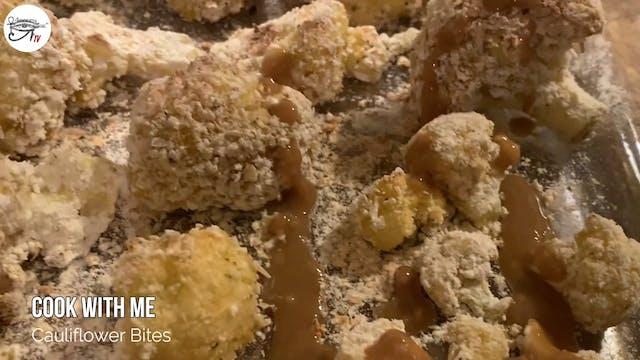 Angelee Cooks - Cauliflower Bites