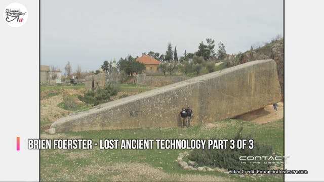 Brien Foerster - Lost Ancient Technol...