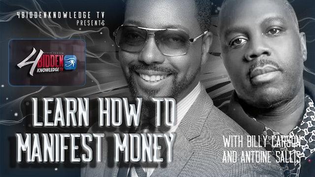 4biddenknowledge Podcast - Billy Carson and Antoine Sallis