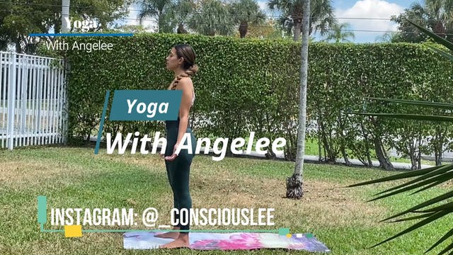 Yoga With Angelee - Sun Salutation