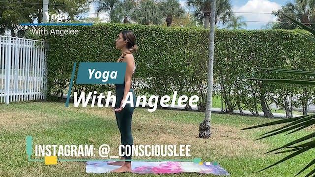 Yoga With Angelee - Sun Salutation