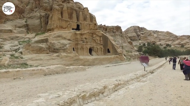Exploration Of Megalithic Petra In Jordan In 2017