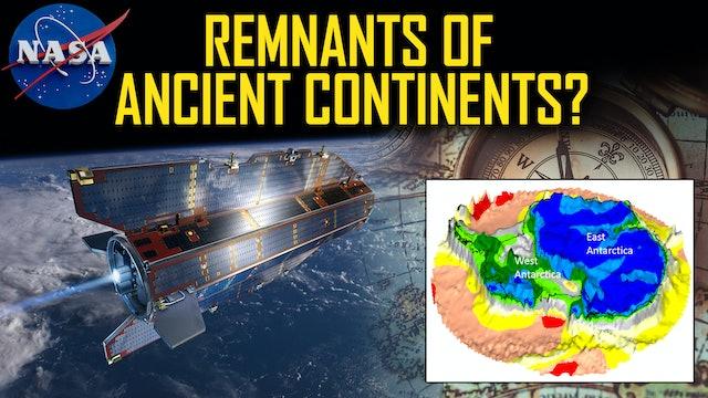 ESA's Gravity-Mapper Reveals Relics Of Ancient Continents Under Antarctic Ice