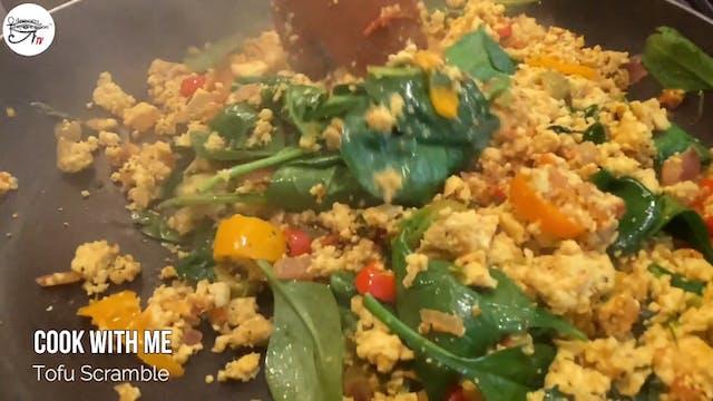 Angelee Cooks - Tofu Scramble -