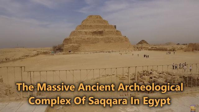 Exploring With Brien Foerster - Saqqara Egypt