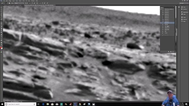 Structure - Spacecraft - Machine and Underground Entrances Found On Mars!