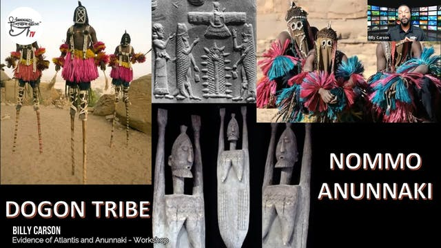 Evidence of Atlantis and Anunnaki - Workshop Presentation by Billy Carson Part 3