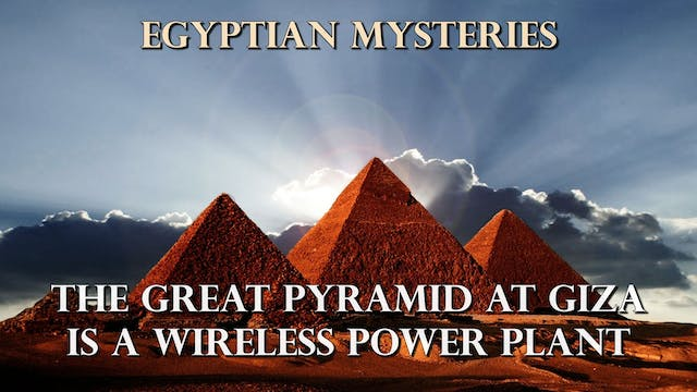 The Great Pyramid At Giza Is A Wirele...