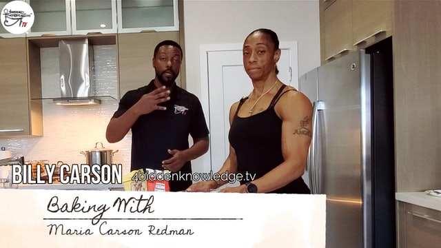 Baking With Maria Carson Redman - Chocolate Keto Cake -