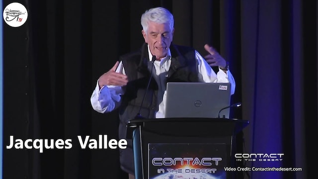 Jacques Vallee - Recent Close Encounters.  Part 1 of 2