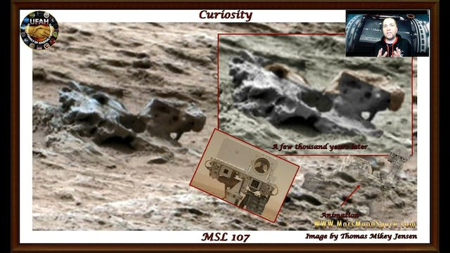 Amazing Mars..  Possible decayed mech...