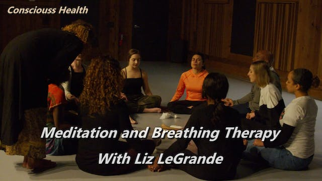 Meditation and Breathing Therapy With...