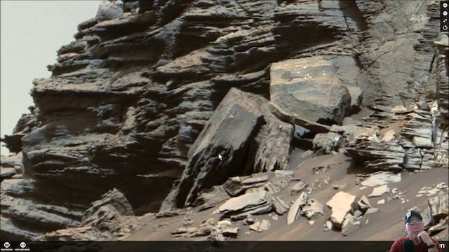 Machinery - Stone Ruins Found On Mars