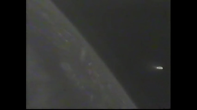 Big Blob UFO in space