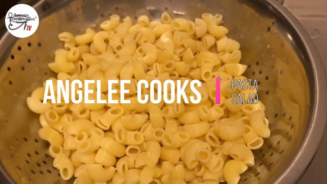 Angelee Cooks - Pasta Salad