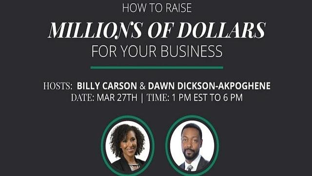 Billy Carson With Dawn Dickson Akpoghene - Workshop Intro