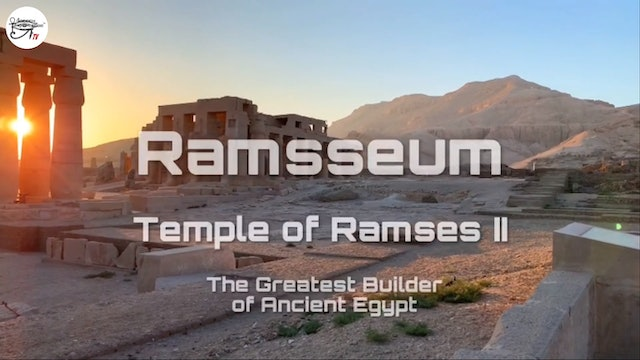 Ramsseum. Temple Of Ramses II - The Greatest Builder Of Ancient Egypt.