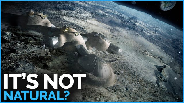 Is Earth's Moon Really a 'Natural' S...