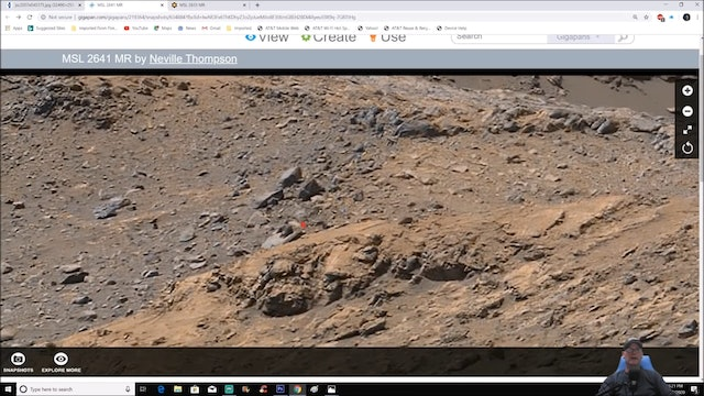 Obfuscated Structures-Mechanical Parts and Spacecraft Found In the Hills Of Mars