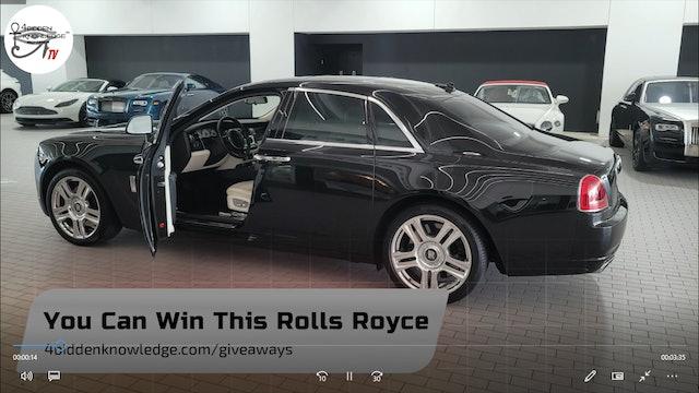 Rolls Royce Ghost Giveaway