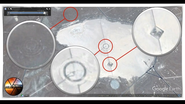 Area 51 Groom Lake mysterious UFO Secret Bases