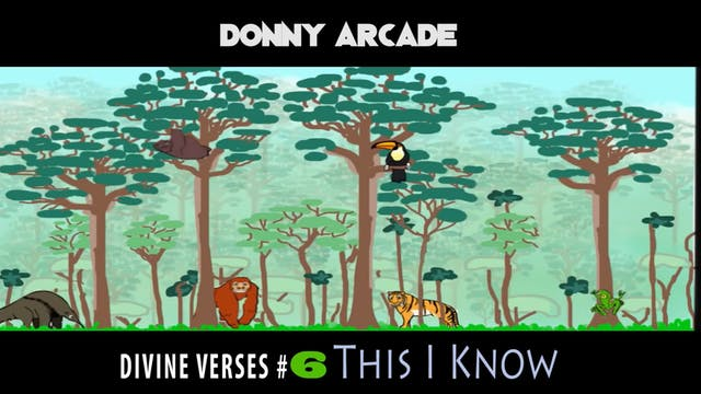 Divine Verses #6 This I Know by Donny...
