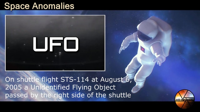 Unidentified Flying Objects Captured on Camera in Space