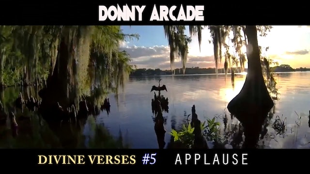 Divine Verses #5 Applause by Donny Arcade