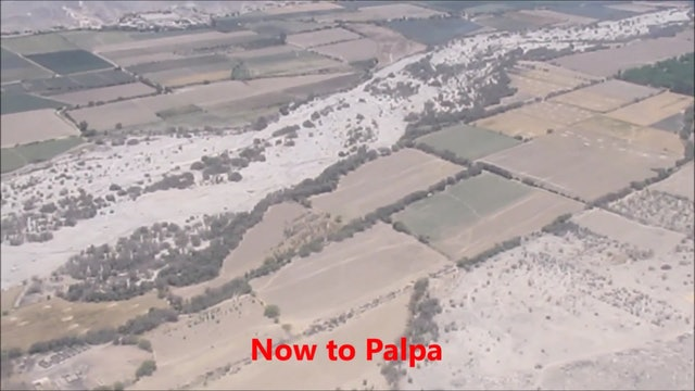 Flying Over Nazca Lines And Palpa Geoglyphs