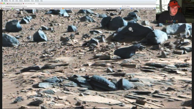 Top High Resolution Anomalies From Gale Crater On Mars