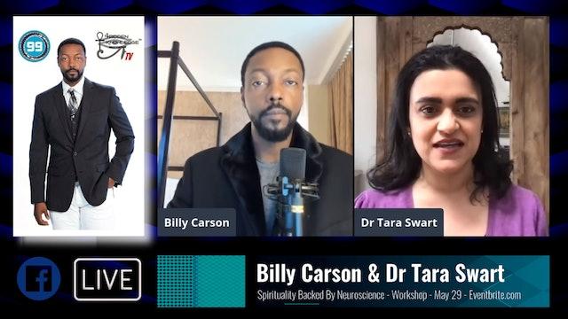 Billy Tara Livestream - Spirituality Backed by Neuroscience