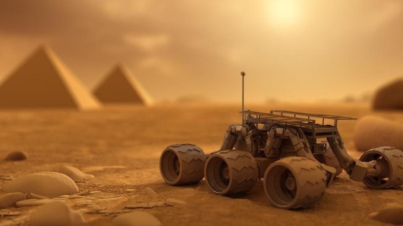 Martian Arcaeology