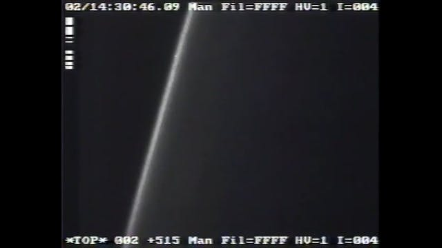 NASA UFO In UV on STS-75