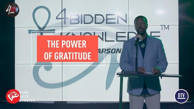4biddenknowledge Podcast - Billy Carson - Gratitude