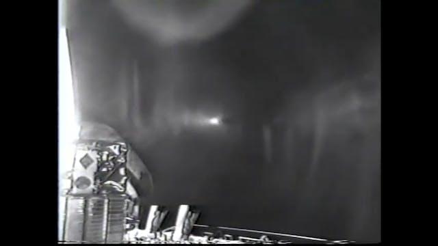 Continuous NASA UFOs behind Shuttle