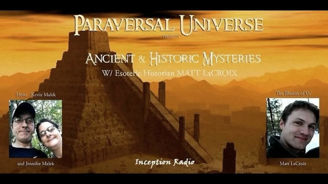 Inception Radio Show - Vatican Archives, Ancient History, Emerald Tablets - Matthew LaCroix