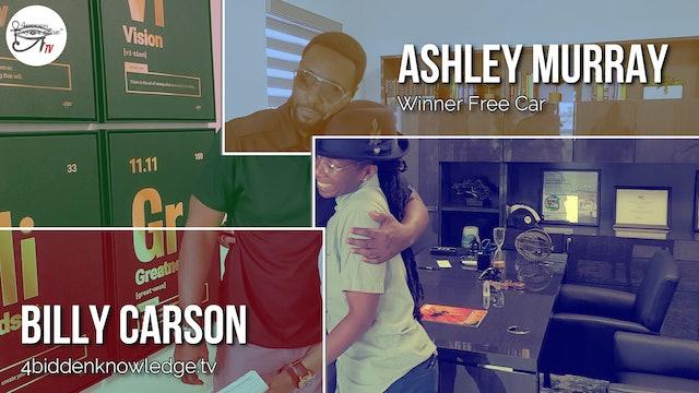 Ashley Murray - Free Car Winner
